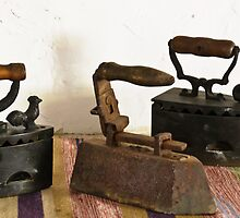 Old irons by Stanciuc