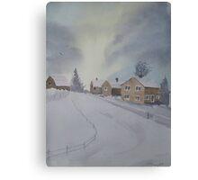 Winter's Way Canvas Print