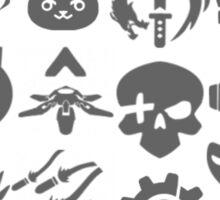 Ultimate Abilities - Gray  Sticker