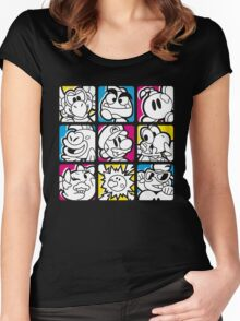 Paper Plumber Women's Fitted Scoop T-Shirt