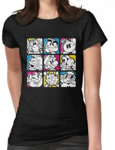 Paper Plumber Womens Fitted T-Shirt