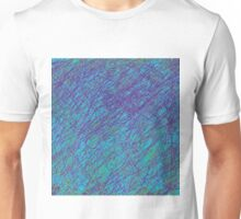 Dark Blue design by Moma Unisex T-Shirt