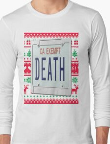 Death Grips Christmas  Long Sleeve T-Shirt