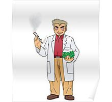Professor Smoke Poster