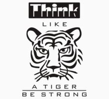 Think like a Tiger Kids Clothes