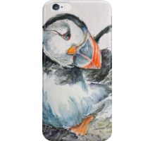 Cheeky puffin iPhone Case/Skin
