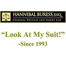 Hannibal Buress Attorney at law  Photographic Print