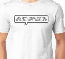 One, Two, Three, Four Unisex T-Shirt