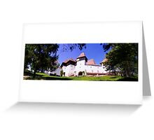 The Fortified Church from Viscri village, Transylvania, Romania Greeting Card