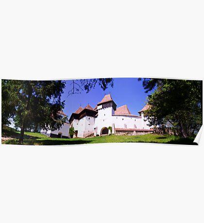 The Fortified Church from Viscri village, Transylvania, Romania Poster