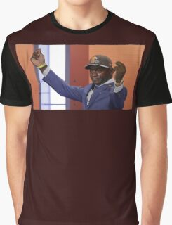 Crying Jordan Johnny Manziel on NFL Draft Day Graphic T-Shirt