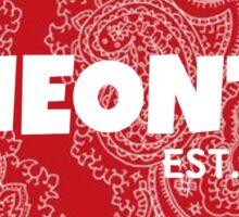 oneonta sticker Sticker