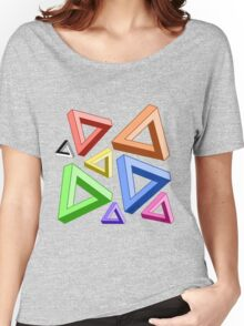 Impossible Triangle Love. Women's Relaxed Fit T-Shirt