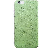 Drops of water on waterproof tent sheet iPhone Case/Skin