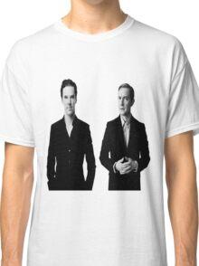 Sherlock Holmes and John Watson - Johnlock Classic T-Shirt