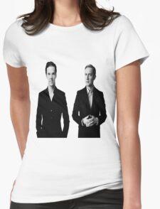 Sherlock Holmes and John Watson - Johnlock Womens Fitted T-Shirt
