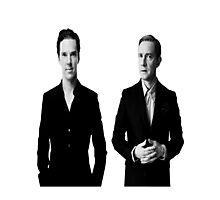 Sherlock Holmes and John Watson - Johnlock Photographic Print