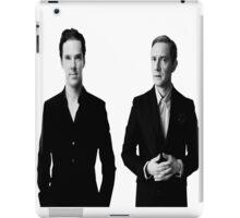 Sherlock Holmes and John Watson - Johnlock iPad Case/Skin