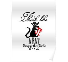 Think like a Rat VRS2 Poster
