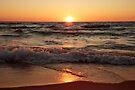 Lake Michigan Sunset II by William C. Gladish