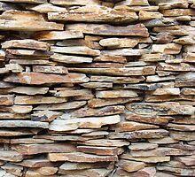 Pattern of decorative stone wall surface by Stanciuc