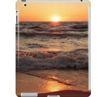 Lake Michigan Sunset II iPad Case/Skin