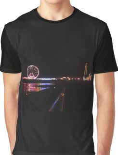 Blackpool Tower Graphic T-Shirt