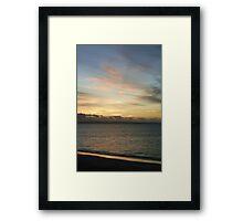 Silver Sand Framed Print