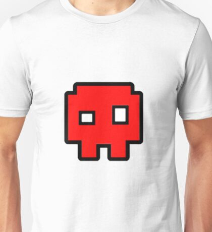 Geometry Dash - Skull Cube Unisex T-Shirt