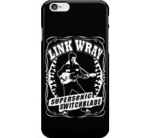 Link Wray (Supersonic Switchblade) iPhone Case/Skin