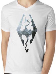 TES - Skyrim Mens V-Neck T-Shirt
