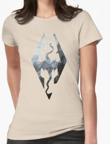 TES - Skyrim Womens Fitted T-Shirt