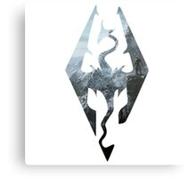 TES - Skyrim Metal Print