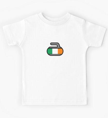 Ireland Rocks! - Curling Rockers Kids Tee