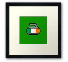 Ireland Rocks! - Curling Rockers Framed Print