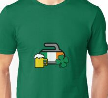 Irish On The Rocks! - Curling Rockers Unisex T-Shirt
