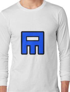 Geometry Dash - Base After Base Cube Long Sleeve T-Shirt