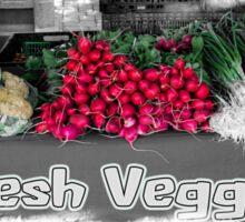 Fresh Veggies Sticker