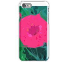 Hot Pink Flower iPhone Case/Skin