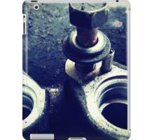 Pump Threads iPad Case/Skin