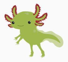 Cutesy Axolotl Kids Tee