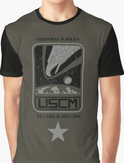 Corporal Dwayne Hicks - Aliens Graphic T-Shirt