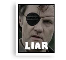 The Governor - THE WALKING DEAD (Liar) Canvas Print