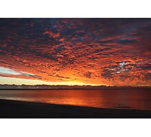 All the colours of the sunset Photographic Print