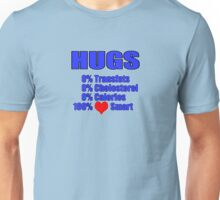 hugs - heart healthy Unisex T-Shirt