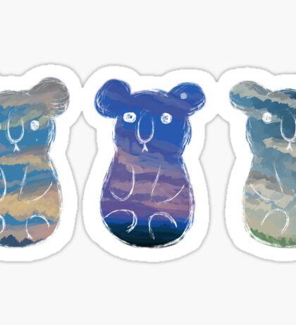 A Koala Sky Sticker