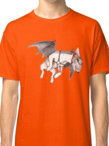 If Pigs Could Fly - on black Classic T-Shirt