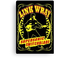 Link Wray (Supersonic Switchblade) Colour Canvas Print