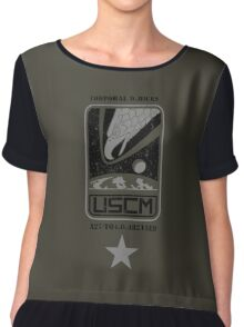 Corporal Dwayne Hicks - Aliens Chiffon Top