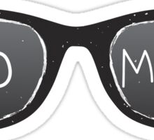 Do More Sunglasses Sticker